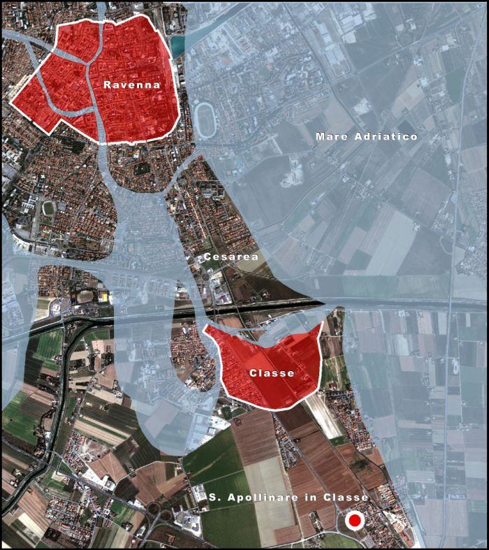 Gli abitati di Ravenna e Classe in antico (VI secolo d. C.)