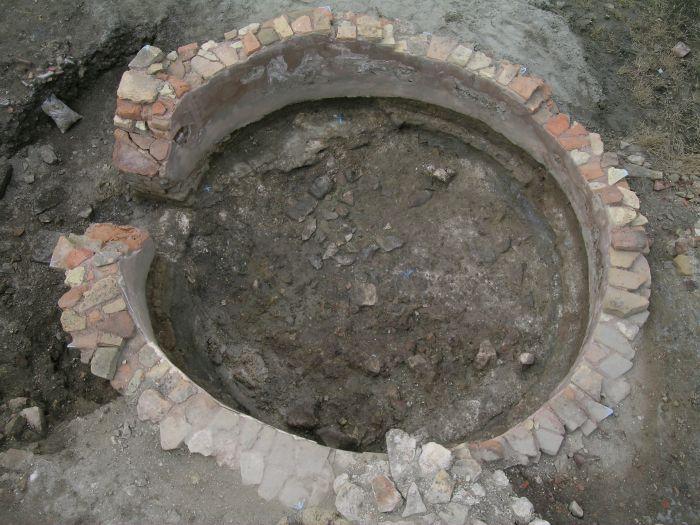 Fornace da calce a pianta circolare (metà VI secolo d. C.)