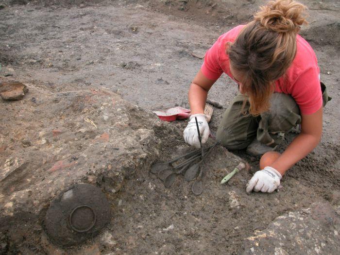 Il tesoretto viene portato alla luce durante la campagna di scavi del 2005