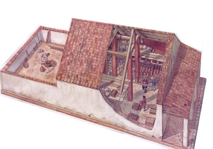 La ricostruzione del magazzino 17